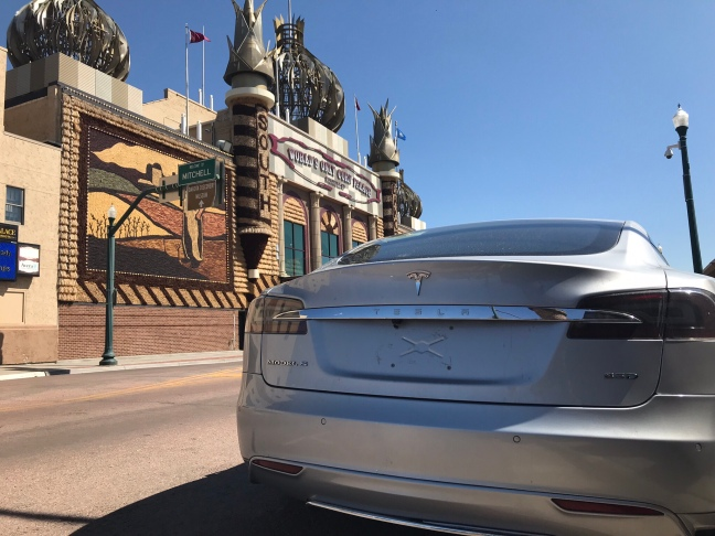 Tesla at Corn Palace